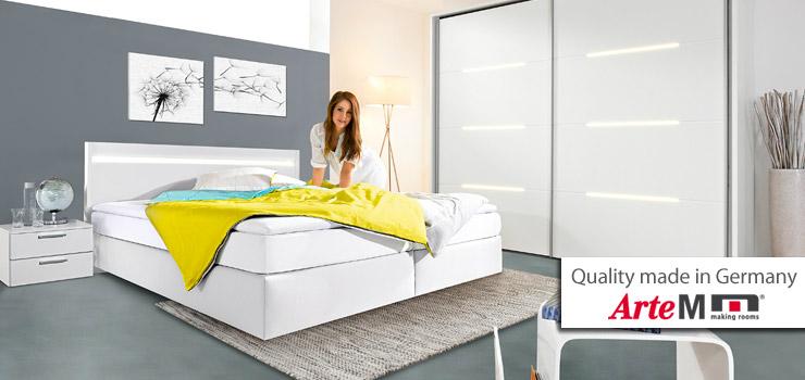 Betten vonr Arte-M