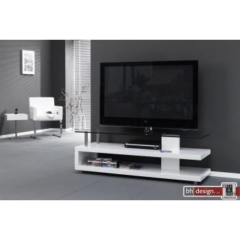 Carla TV-Bord  Hochglanz  weiss 150 x 50 cm (Extreme Gloss)