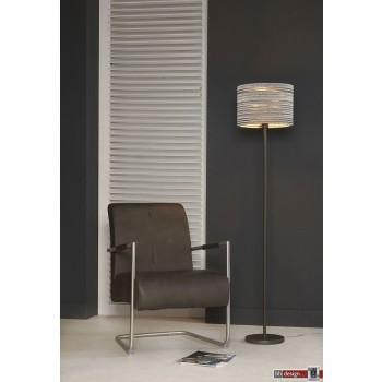 Nature Line Stehlampe  mit Karton Lampenschirm ,  164 x 35 cm