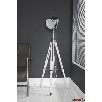 Studio Line Strahler mit 3 Fuß Gestell weiss, alternativ schwarz  H 148 x 44 cm