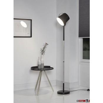 Studio Line Strahler mit Holzgestell  schwarz  H 160 x 22 cm