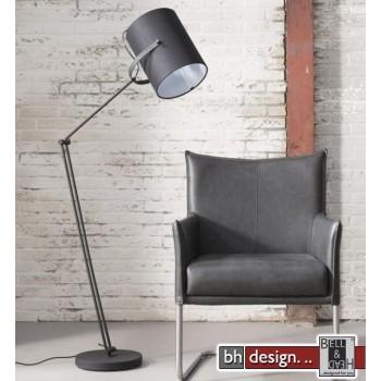 Studio Line Stehlampe verstellbar mit Stofflampenschirm 30 x 24,5 x 168 cm