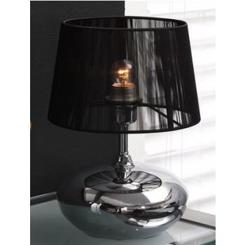 Lounge Line Tischlampe Chrom Touch Dim 34 x 25 cm