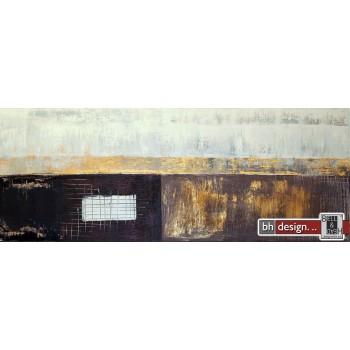 """Einzelgemälde 130 x 50 cm """"Goldrush"""""""