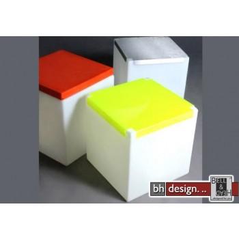 Kubo Plexi Designer Hocker