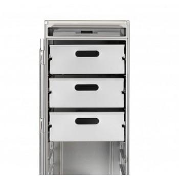 Skypak Innenausstattung Aluminium Schublade