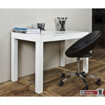 Angelo Schreibtisch weiss seidenmatt 120 x 60 cm