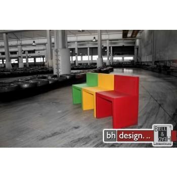 Angolo Retto Designer Stuhl in verschidenen Farben