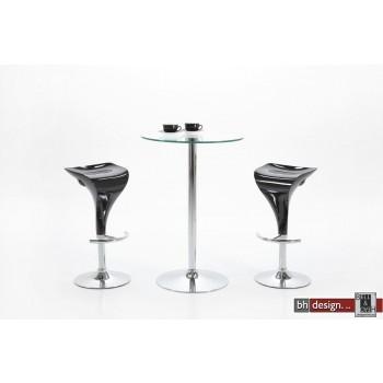 Nani Bartisch Glas/Chrom 105 cm