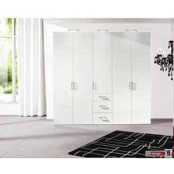 Express Möbel Drehtürenschrank Brooklyn, unifarben und Schubladen, Höhe 216 cm oder Höhe 236 cm