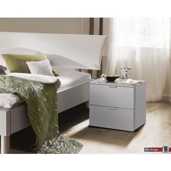 Express Möbel Nachtkonsole Carina , 2 Schubladen, verschiedene Farbvarianten B 40 cm x H 42 cm