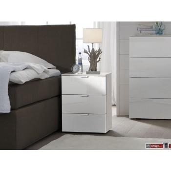 Express Möbel Nachtkonsole Carina , 3 Schubladen, verschiedene Farbvarianten B 50 cm x H 61 cm