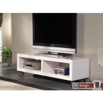 Elias TV-Tisch hochglanz weiss 120 x 39 cm (Extreme Gloss)