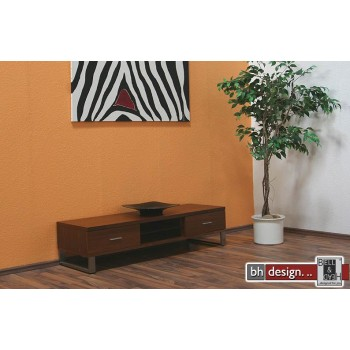 Nexus TV-Tisch Walnussfurnier 135 x 42 cm