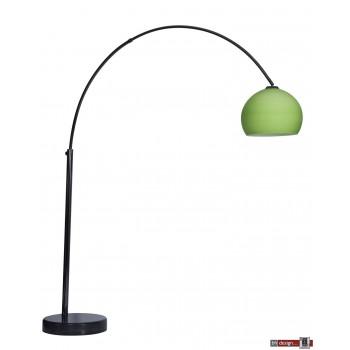 Stehleuchte Lounge 1 Black Chrome  by Danalight , verschiedene Farben, 1 Schirm