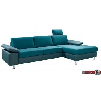Brueder Polstermöbel Longchair Luxor  in verschiedenen Farben und Ausführungen