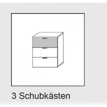Express Möbel Kommode Navajo, 3 Schubkästen, B 50 cm x H 61 cm