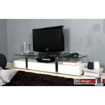 Plasmas TV-Tisch hochglanz weiss