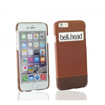"""Echtleder Cover """"rush"""" für iPhone 6 (S) / iPhone 6 (S) Plus und Galaxy S6 (edge und edge+) cognac-braun"""