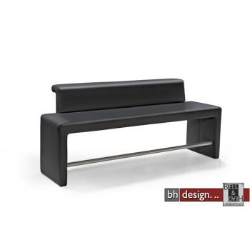 arte m polsterbank tokio mit rueckenlehne schwarz powered by bell head preiswerte. Black Bedroom Furniture Sets. Home Design Ideas