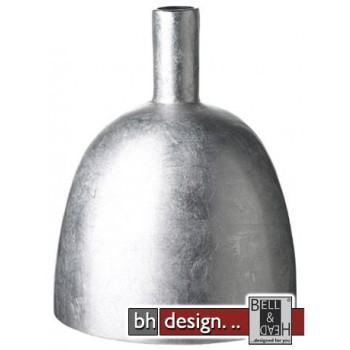 Spizy Vase kleiner Hals silber H 25 cm
