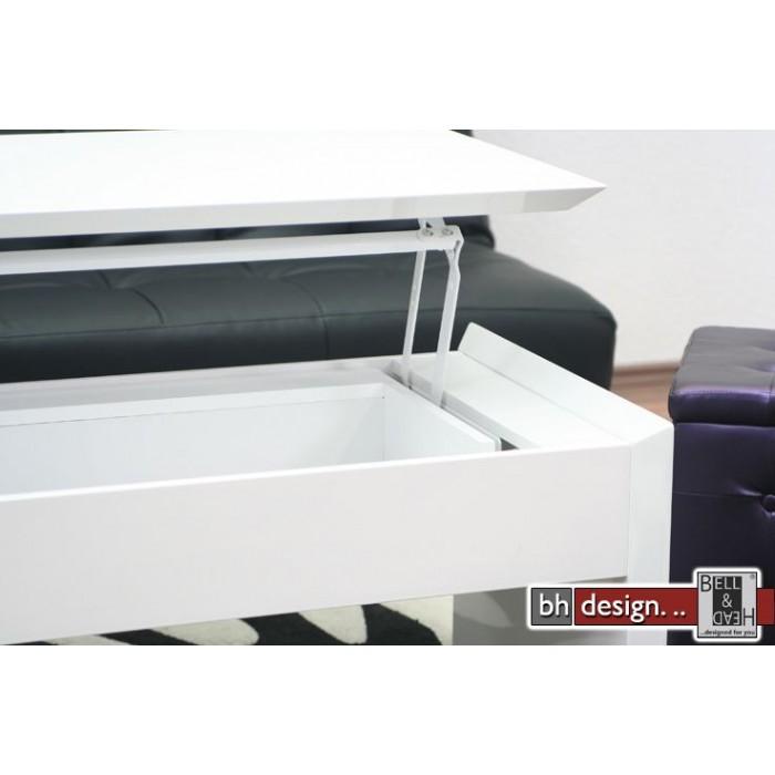 details zu couchtisch wei honig holz m bel k chenm bel neu 3208 pictures to pin on pinterest. Black Bedroom Furniture Sets. Home Design Ideas