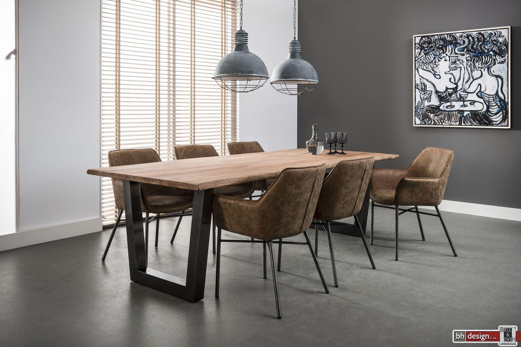 nature line esstisch konferenztisch massiv akazienholz 200 x 100 cm powered by bell head. Black Bedroom Furniture Sets. Home Design Ideas