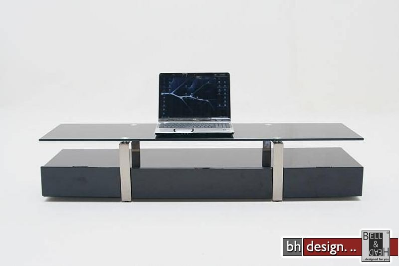 plasma tv tisch schwarz designm bel online kaufen. Black Bedroom Furniture Sets. Home Design Ideas