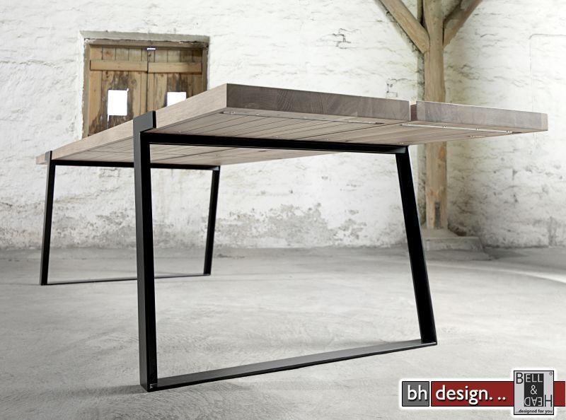 Gigant esstisch by canett design massiv eiche in for Designer esstisch 240
