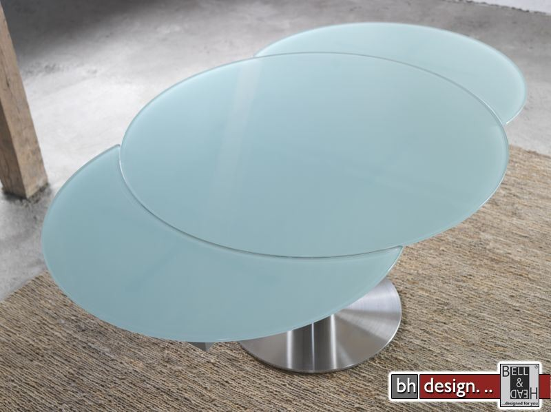 allianze esstisch rund 120 ausziehbar auf 190 cm in beige. Black Bedroom Furniture Sets. Home Design Ideas