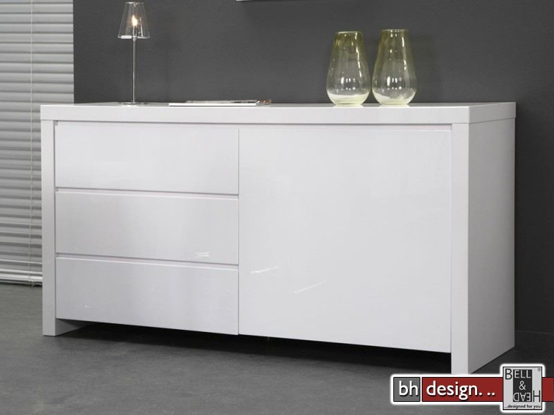 alexa sideboard weiss powered by bell head preiswerte. Black Bedroom Furniture Sets. Home Design Ideas
