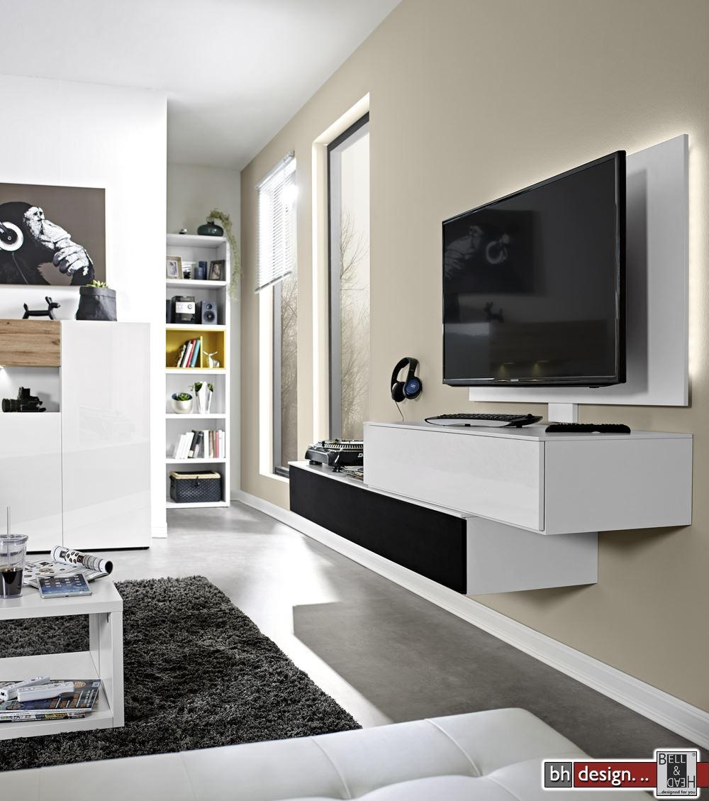 wohnwand arte m die neuesten innenarchitekturideen. Black Bedroom Furniture Sets. Home Design Ideas