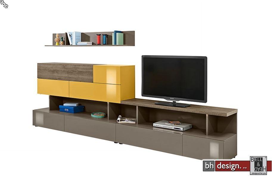 arte m wohnkombination beam w 325 cm x 143 cm in verschiedenen farben powered by bell head. Black Bedroom Furniture Sets. Home Design Ideas