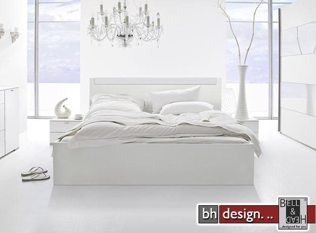 bett weiss hochglanz images. Black Bedroom Furniture Sets. Home Design Ideas