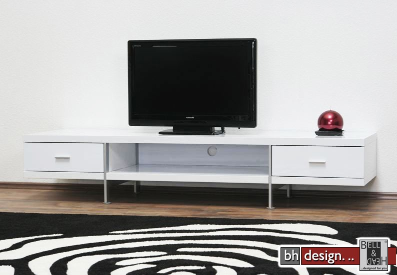 bonsai tv tisch weiss powered by bell head preiswerte. Black Bedroom Furniture Sets. Home Design Ideas