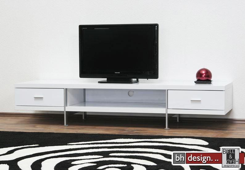 bonsai tv tisch weiss powered by bell head preiswerte versandkosten innerhalb de. Black Bedroom Furniture Sets. Home Design Ideas