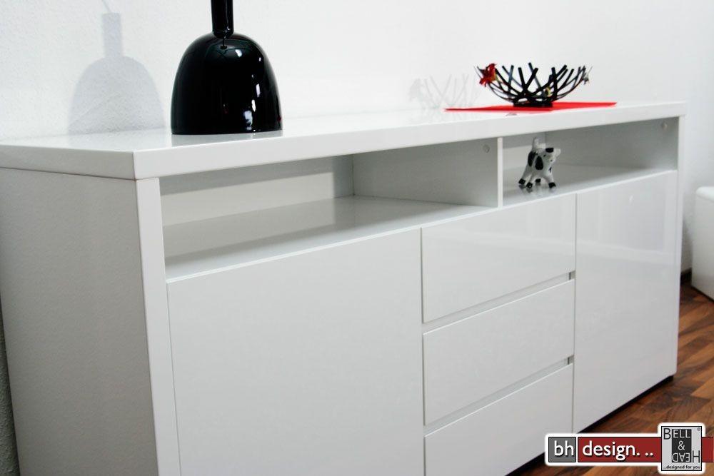 sideboard weiß 180 cm