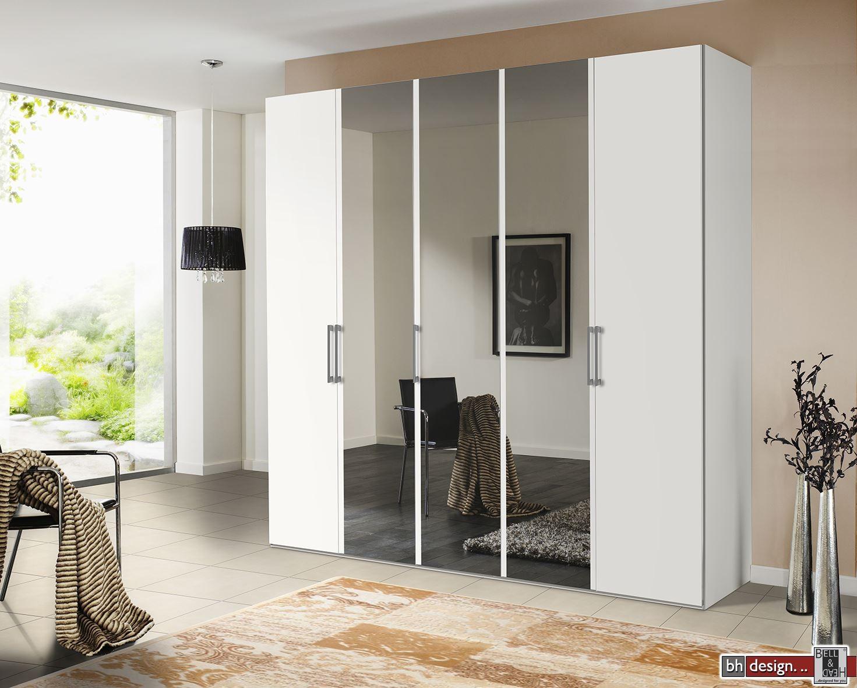 express m bel dreht renschrank brooklyn hochglanz mt spiegel 100 cm 300 cm h he 216 cm o. Black Bedroom Furniture Sets. Home Design Ideas