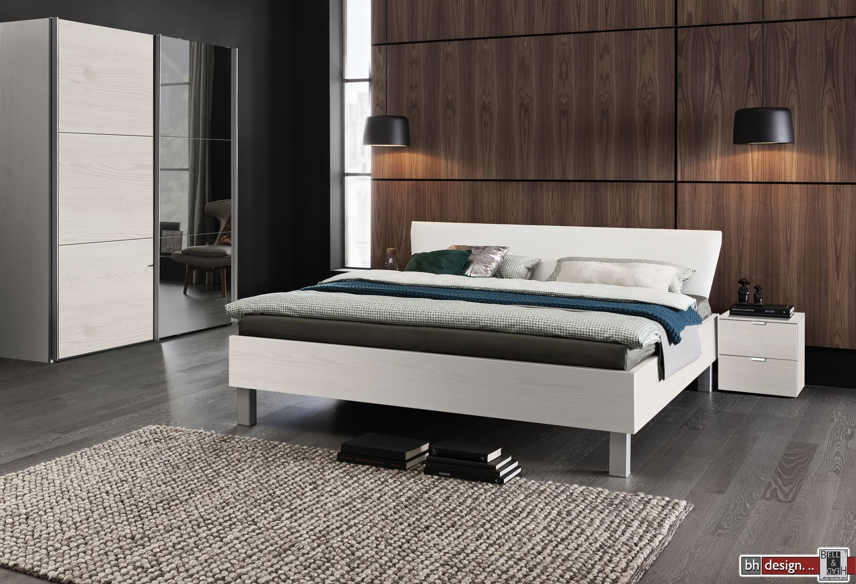 express m bel bett carina polsterr ckenteil weiss verschiedene farben und gr en ab 200 x 90. Black Bedroom Furniture Sets. Home Design Ideas