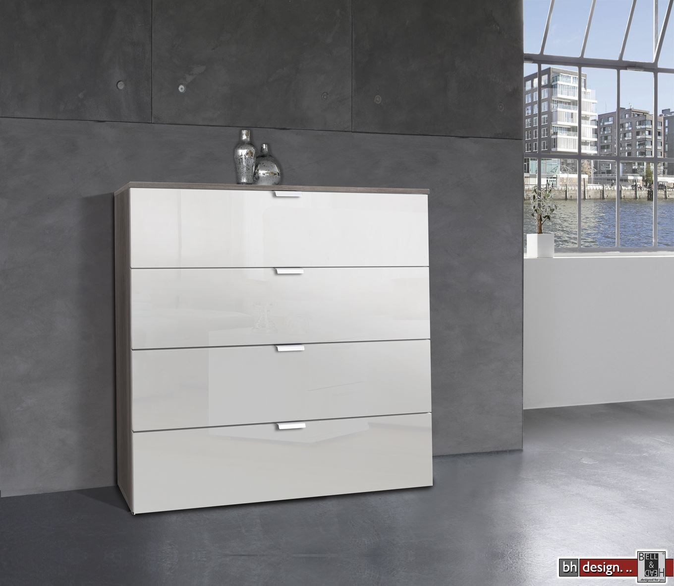 express m bel kommode carina 4 schubk sten front hochglanz weiss b 80 cm x h 80 cm powered by. Black Bedroom Furniture Sets. Home Design Ideas