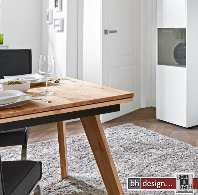 arte m esstisch chester eiche massiv 160 260 x 95 cm alternativ 190 290 x 95 cm powered by bell. Black Bedroom Furniture Sets. Home Design Ideas