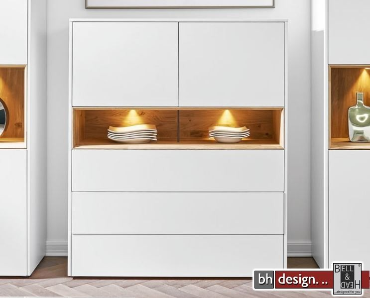 arte m highboard bestseller shop f r m bel und einrichtungen. Black Bedroom Furniture Sets. Home Design Ideas