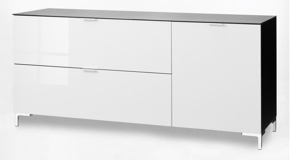 cs schmal sideboard cleo 163 x 66 cm 1 klappe 1 schubk sten 1 t r verschiedene varianten. Black Bedroom Furniture Sets. Home Design Ideas