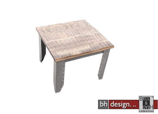 Factory line beistelltisch detroit by canett design for Beistelltisch used look