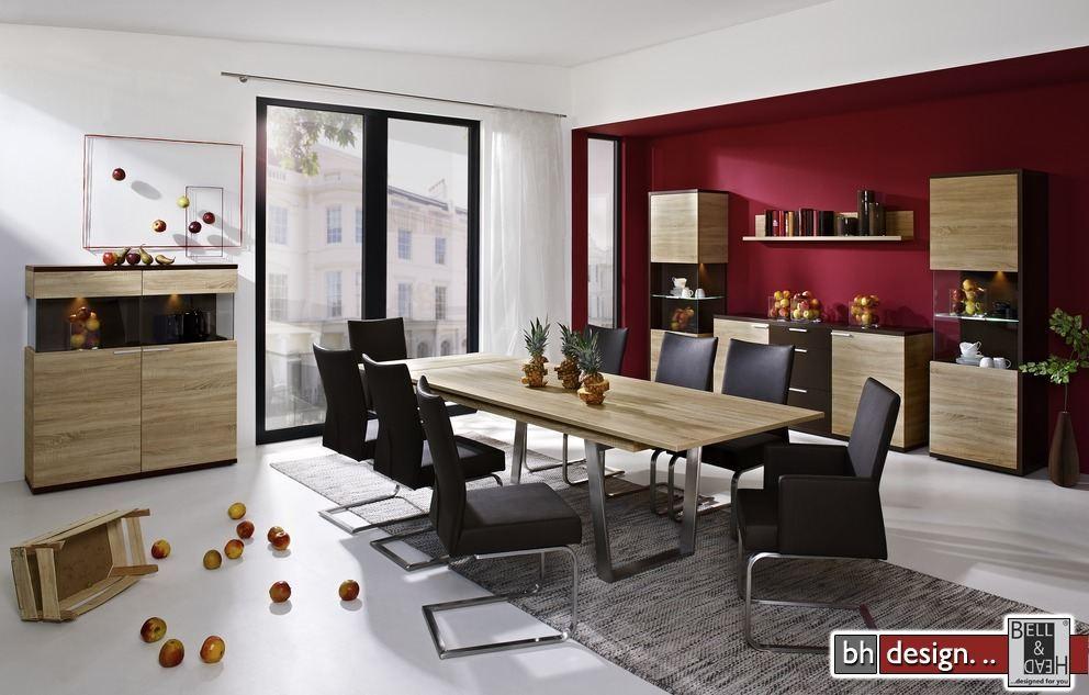 arte m esstisch deck mit chrombeinen ausziehbar 160 255 cm x 75 cm powered by bell head. Black Bedroom Furniture Sets. Home Design Ideas