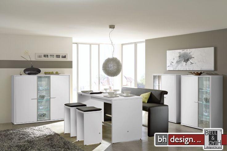 arte m vitrine game weiss parasolglas powered by bell head preiswerte versandkosten. Black Bedroom Furniture Sets. Home Design Ideas