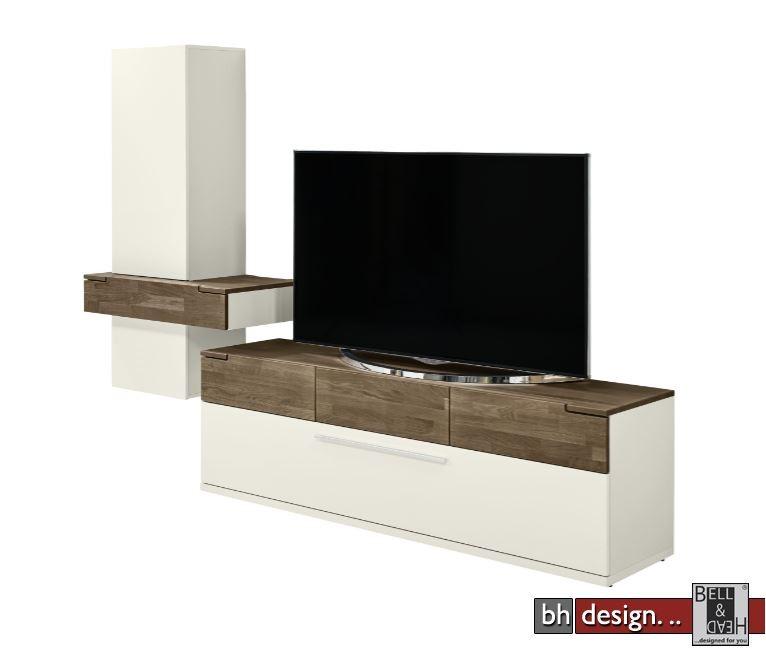 arte m h ngeelement feel weiss oder cubanit eiche massiv 85 cm x 146 x 45 cm powered by bell. Black Bedroom Furniture Sets. Home Design Ideas