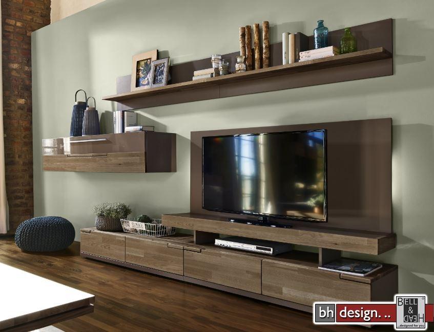 arte m wohnwand feel weiss alternativ cubanit hg eiche massiv 315 cm x 165 cm powered by. Black Bedroom Furniture Sets. Home Design Ideas