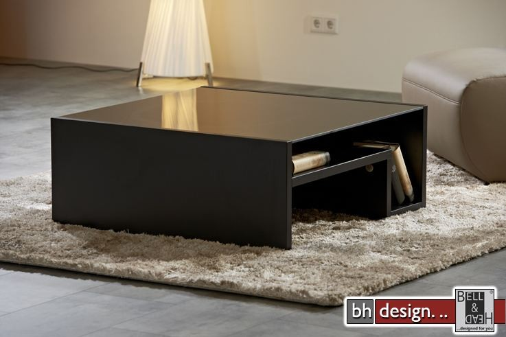 arte m couchtisch game schwarz schwarzglas 90 cm x 90 cm powered by bell head preiswerte. Black Bedroom Furniture Sets. Home Design Ideas