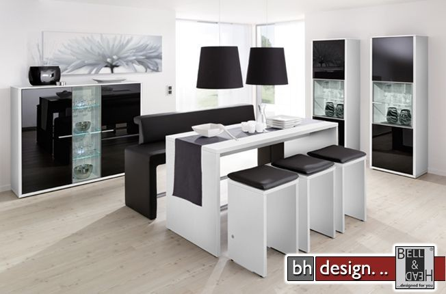 arte m highboard game weiss schwarzglas powered by bell head preiswerte versandkosten. Black Bedroom Furniture Sets. Home Design Ideas
